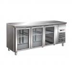 Chladiace stoly presklené