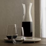 Karafy a flaše sklenené