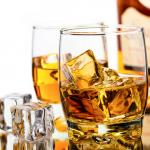 Poháre whisky