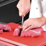 Červené HACCP nože