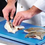 Modré HACCP nože