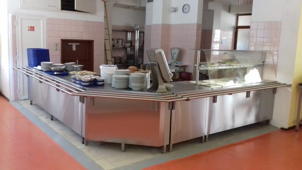 Soš Račianska 105, Bratislava - výdaj stravy